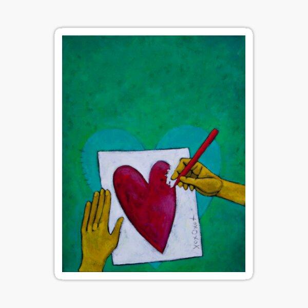 Thank Forward:  Love Letters Sticker
