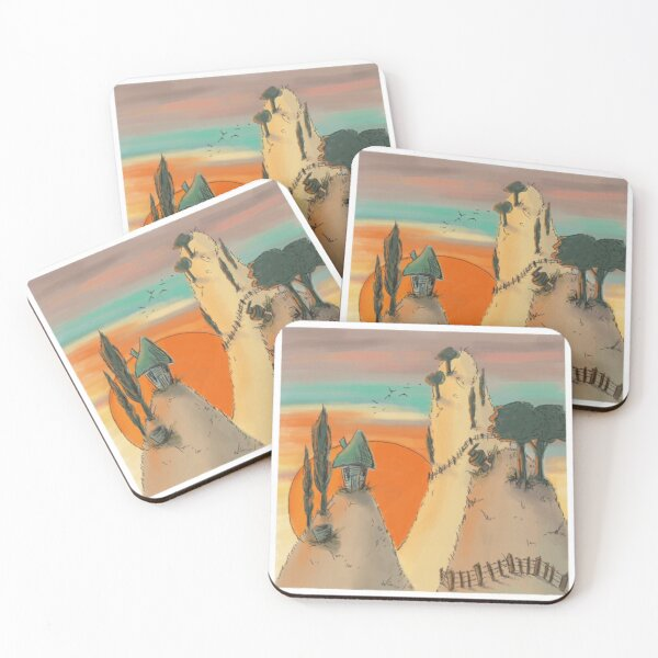 Murray Style Hills Coasters (Set of 4)