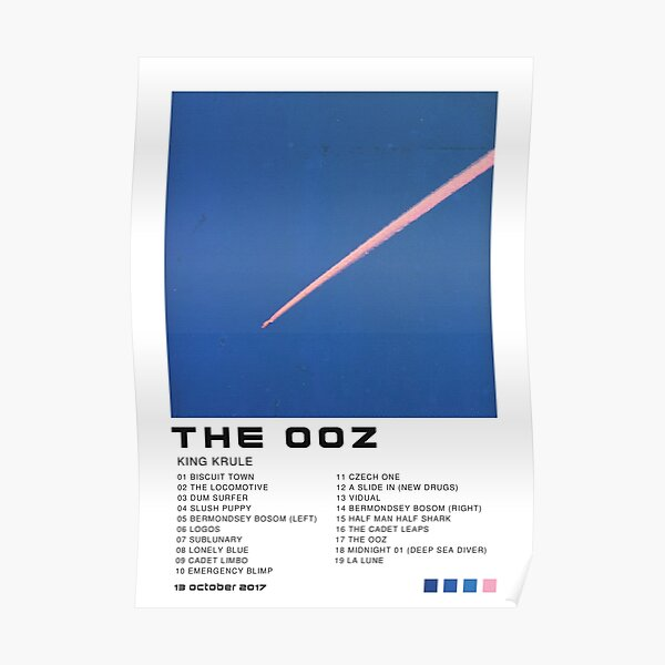 King Krule The OOZ Poster Poster