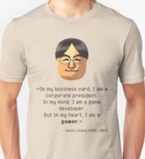 Camiseta ajustada La sabiduría del Sr. Iwata