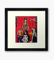 Mr. Right? Framed Print