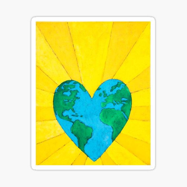 Thank Forward:  Love Your Earth Sticker