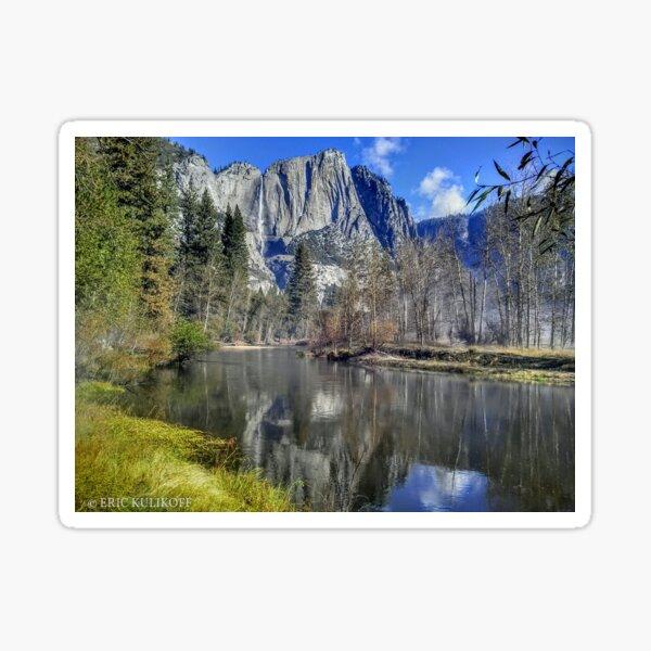 Yosemite Falls, Yosemite National Park Sticker