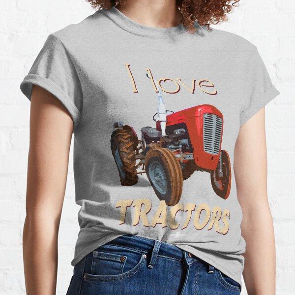 TractorMFGraphicTee_02 Classic T-Shirt