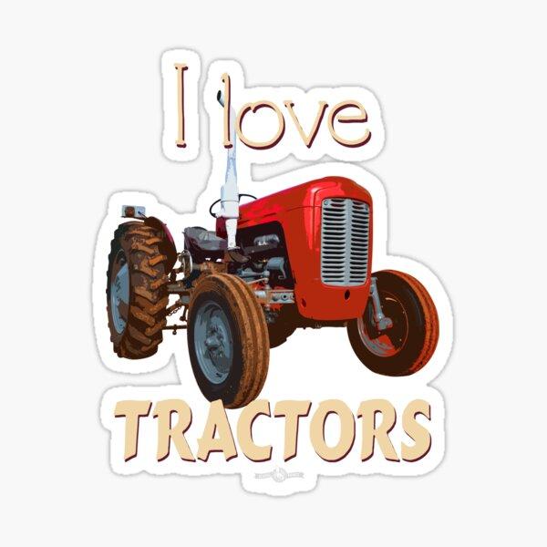 TracteurMFGraphicTee_02 Sticker