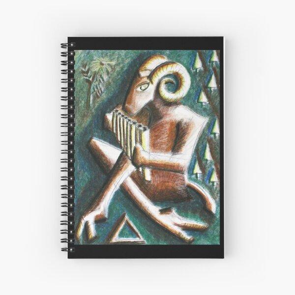 Dio Pan Spiral Notebook