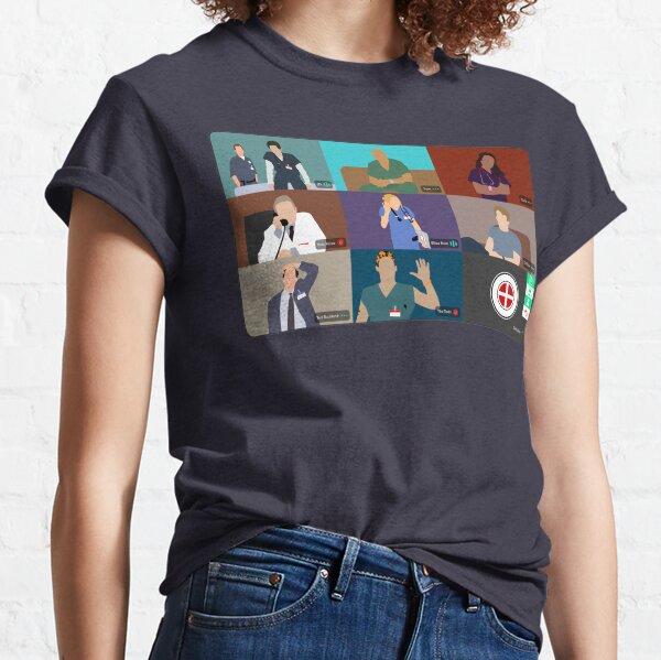Scrubs Virtual Hangout Classic T-Shirt