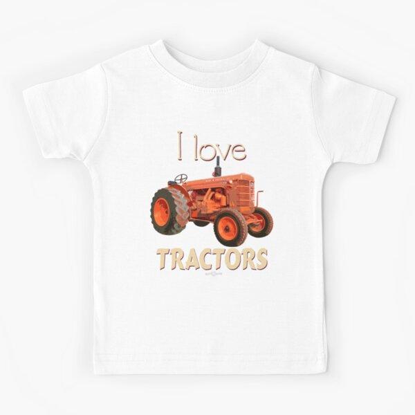 TractorCHGraphicTee_02 Kids T-Shirt