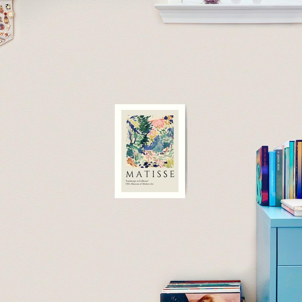 Matisse Landschaft bei Collioure   Kunstdruck