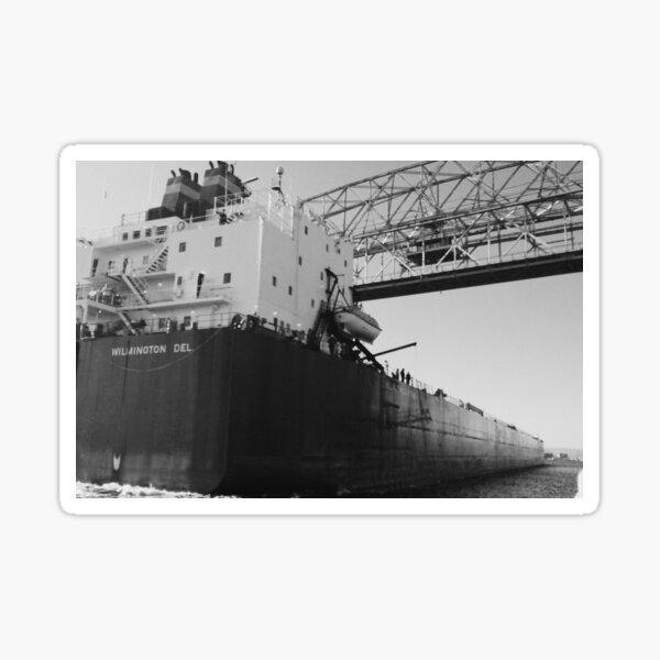 Docking Ship Sticker