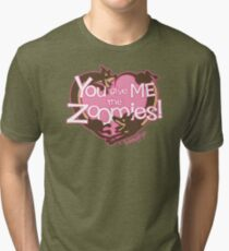 You Give Me The Zoomies! Tri-blend T-Shirt