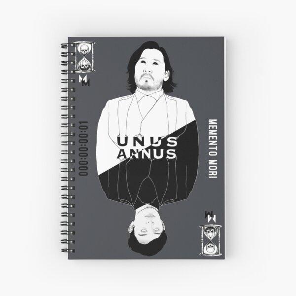 Death Day Unus Annus Spiral Notebook
