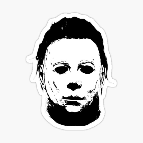 Michael Myers T-ShirtThe Shape Sticker