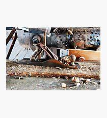 Weinlese-Bailey-Flugzeug Nr. 5 Fotodruck