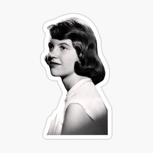 slyvia plath Sticker