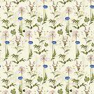 Seamless Background Wilding Poppy by Netopir