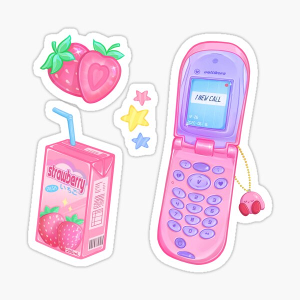Strawberry Sweets Sticker