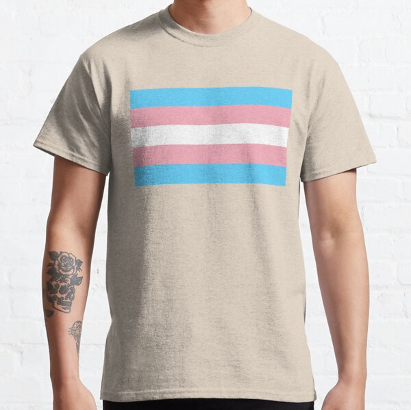 Transgender Pride Flag Classic T-Shirt