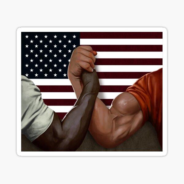 Dutch and Dillon famous Handshake Sticker