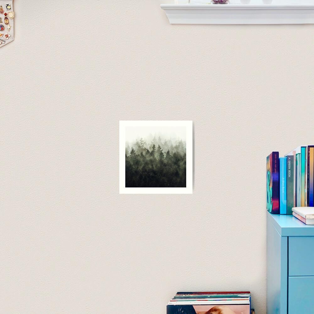 The Heart Of My Heart // Green Mountain Edit Art Print