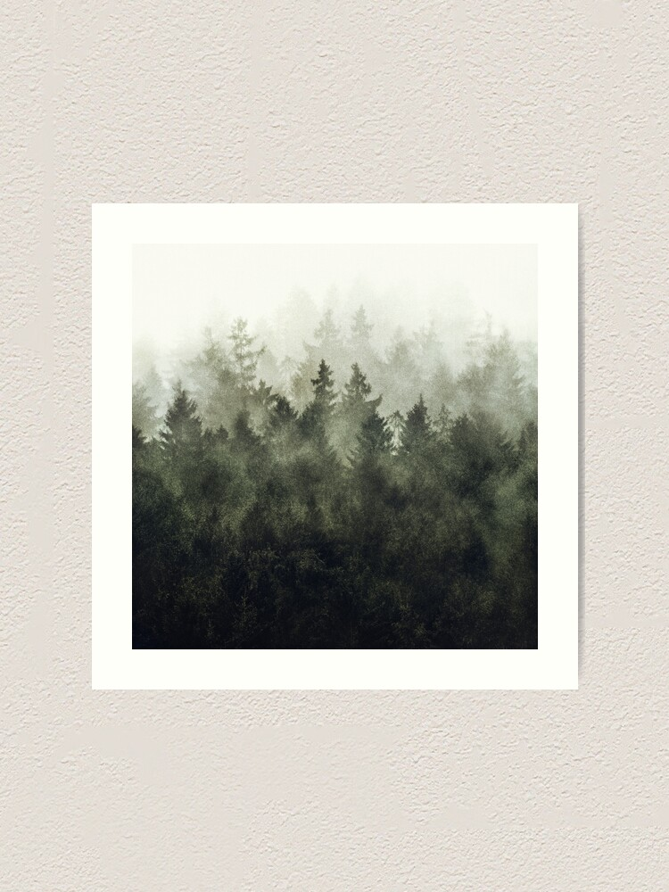 Alternate view of The Heart Of My Heart // Green Mountain Edit Art Print