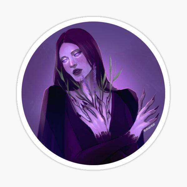 Witchtober: Lavender Sticker