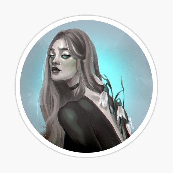 Witchtober: Snowdrop Sticker