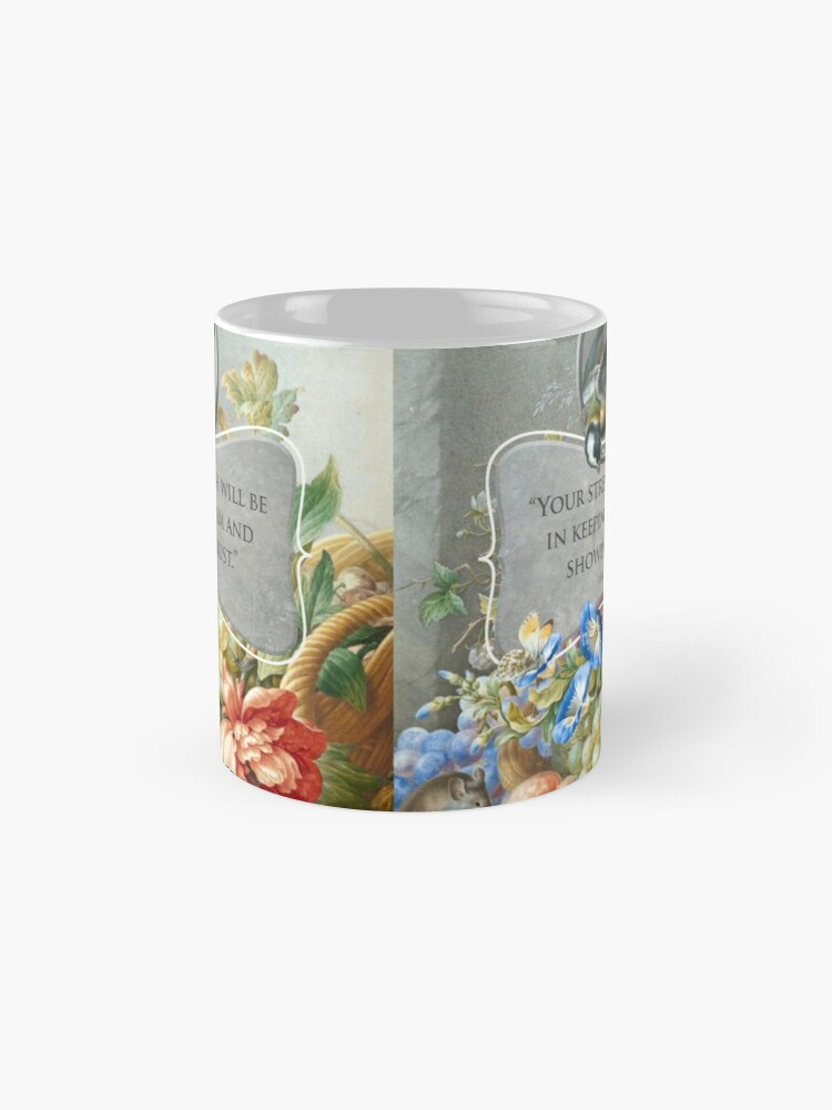 Alternate view of 2021 YEARTEXT (Fruits and Flowers) Mug