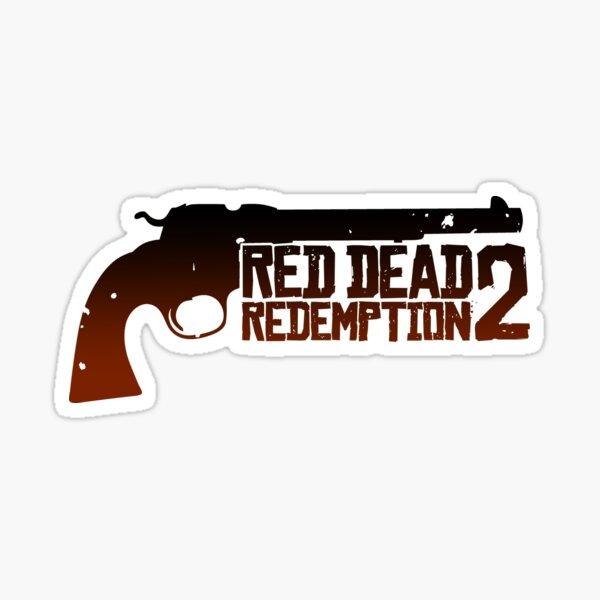 T-shirt de conception de logo de jeu Red Ded 'Redemption 2, RDR2, PS, Xbox Sticker