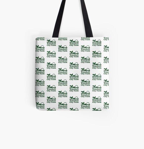Vauxhall City Farm - Logo - Christmas All Over Print Tote Bag
