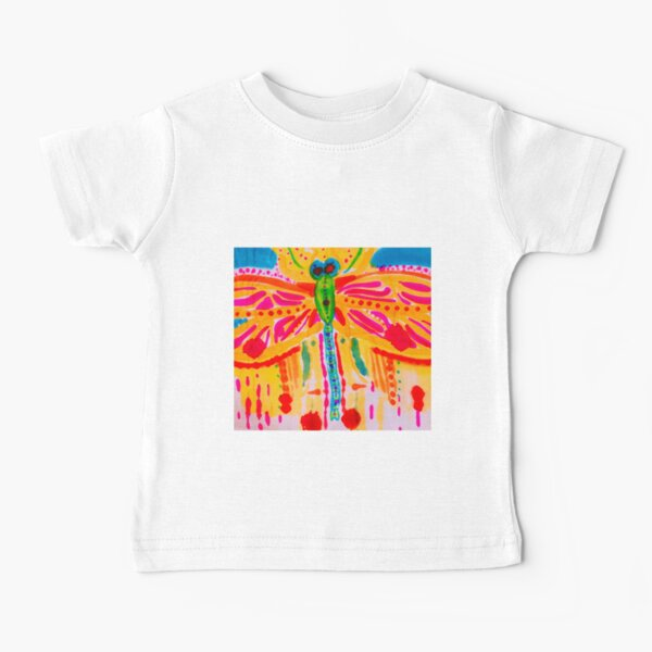 Dragonfly Burst Baby T-Shirt