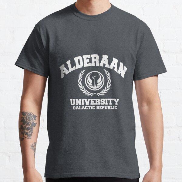 Alderaan University White Classic T-Shirt