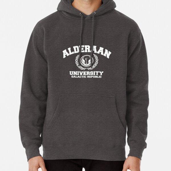 Université d'Alderaan White Sweat à capuche épais