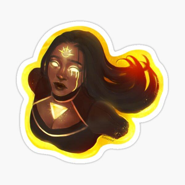 Witchtober: Sun Sticker