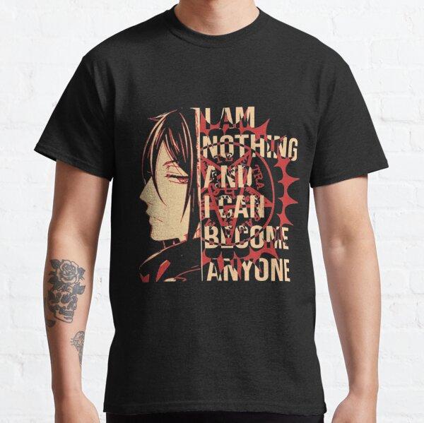 Schwarzer Butler Sebastian Classic T-Shirt