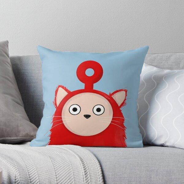 Tubbie Cat Throw Pillow