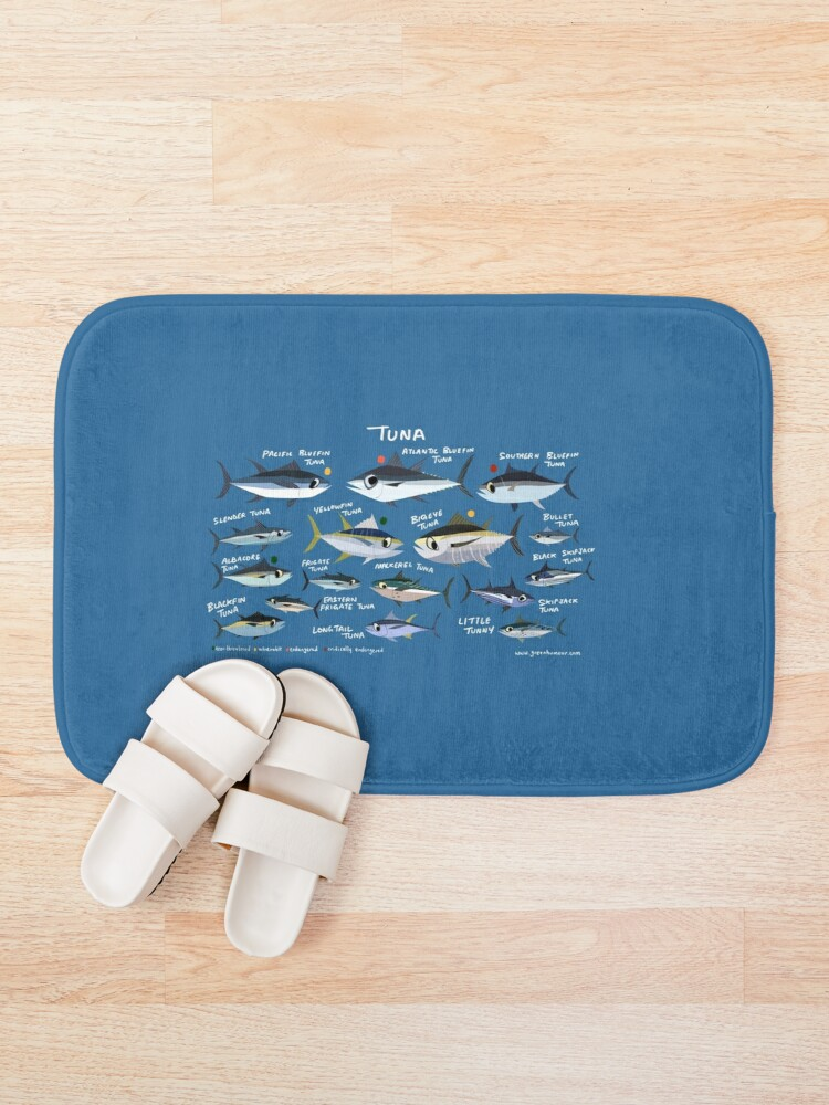 Alternate view of Know your Tuna Bath Mat