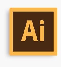 Adobe Illustrator Icon Canvas Print