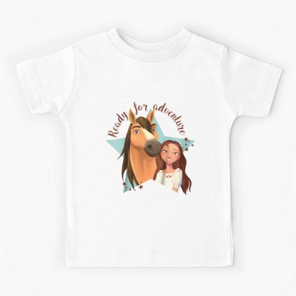 Kids DreamWorks Spirit Riding Free - Star Adventure  Kids T-Shirt