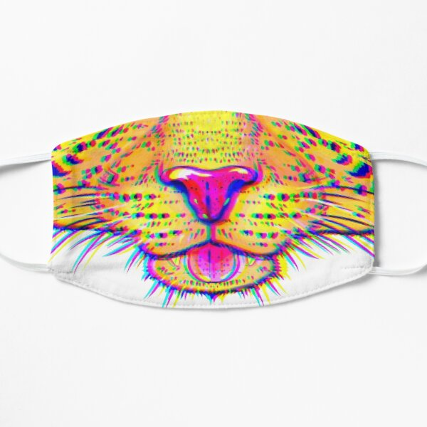 """Leopardenmaske """"Chroma shift"""" Maske"""