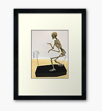 Humanosaurus Wrex Framed Print