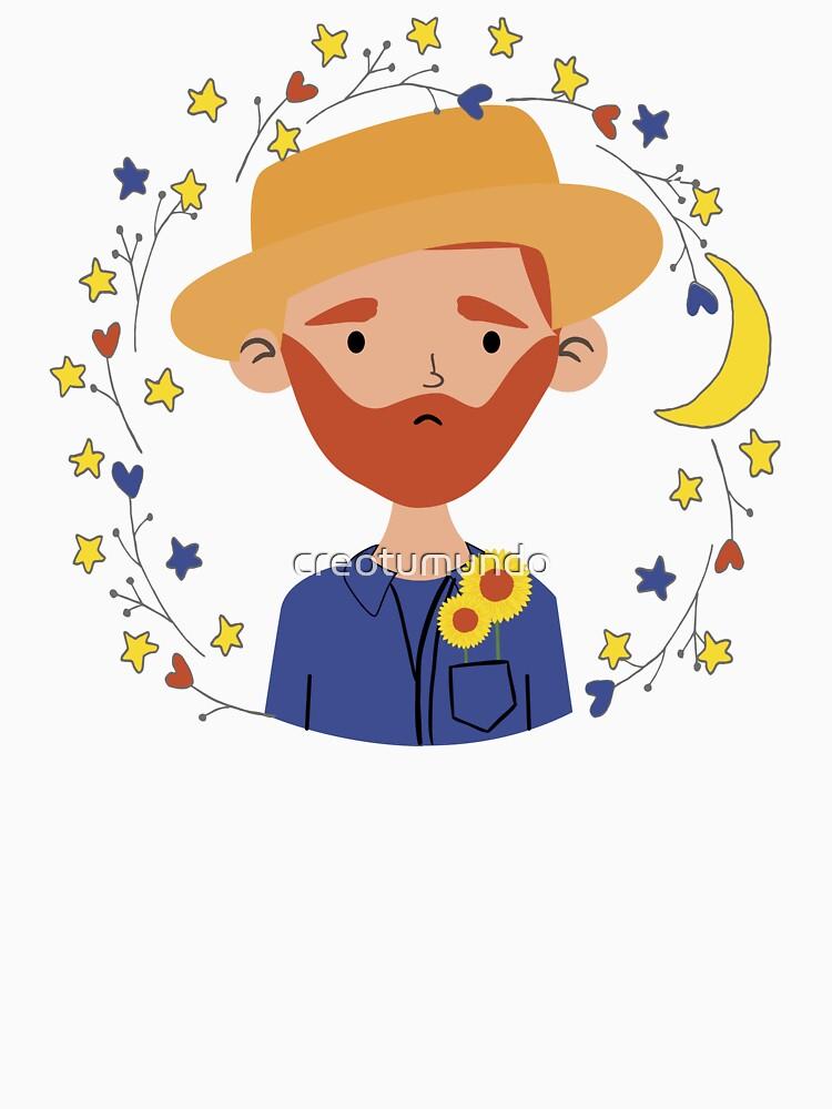 Cute Van Gogh de creotumundo