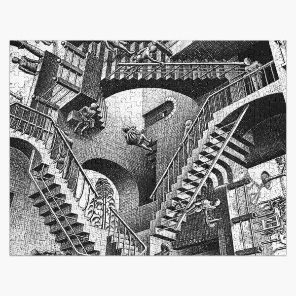 RELATIVITY (M. C. ESCHER, 1953) Jigsaw Puzzle