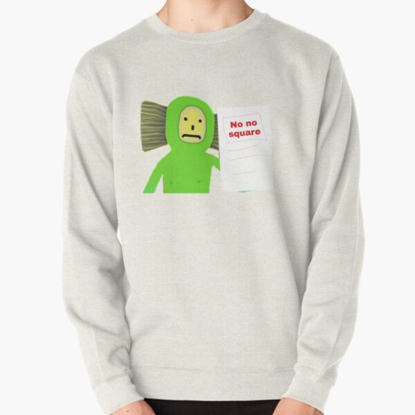 No No Square Brush Pullover Sweatshirt
