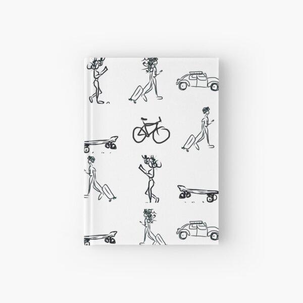 On The Go, WheresMsB Hardcover Journal