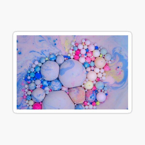 Bubbles Art Jacob Sticker