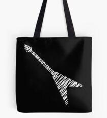 Flying V guitar sketch Tote Bag