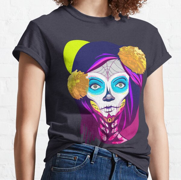 Catrina, Day of the Dead Classic T-Shirt