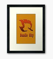 Bandle City Framed Print