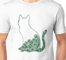 FLOWER CAT Unisex T-Shirt